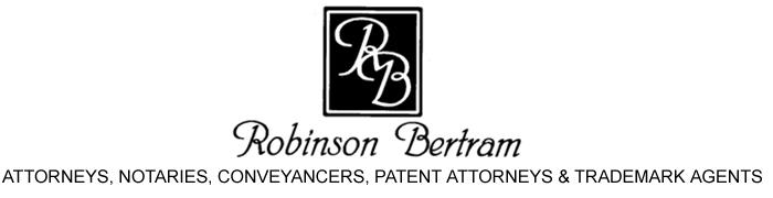 Robinson Bertram (RB) Law Firm Logo